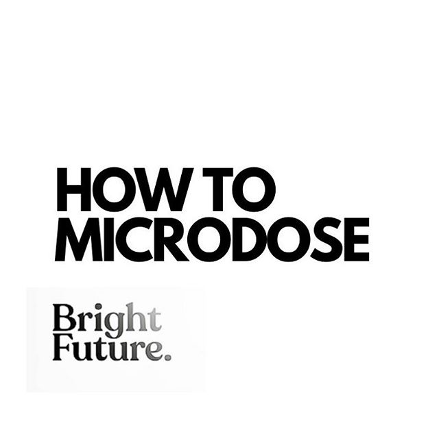 How to Microdose guide picture
