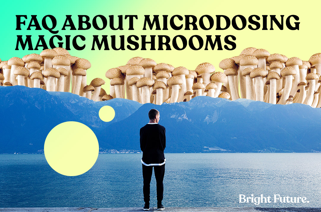 What is Microdosing? Frequently Asked Questions About Magic Mushrooms