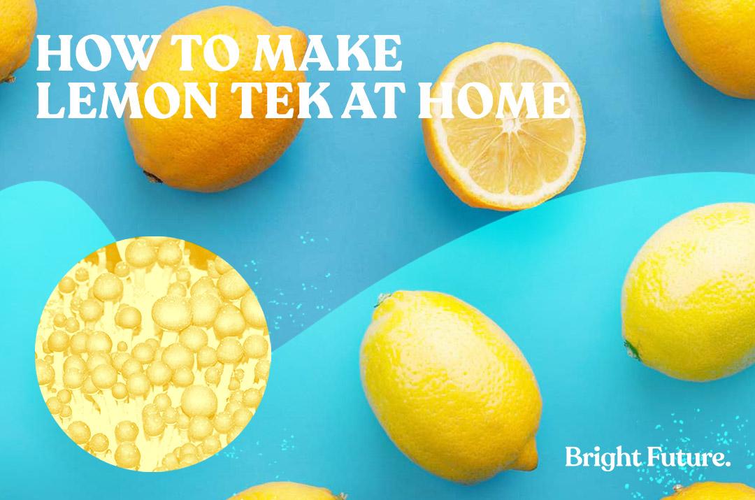 make lemon tek at home